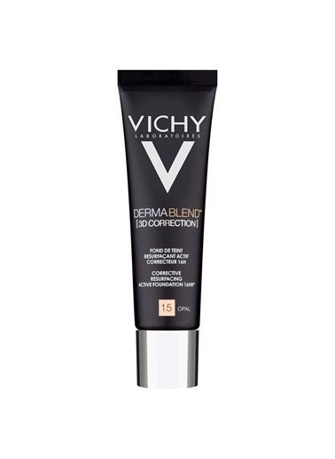 Vichy VICHY Dermablend 3 Boyutlu Düzeltici Fondöten SPF25 30 ml - OPAL 15 Renksiz